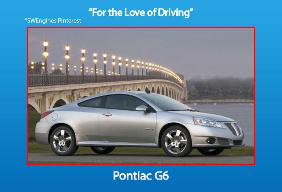 Used Pontiac G6 Engines For Sale Swengines