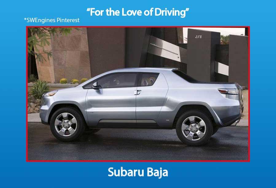 X Subaru Baja Truck Bed