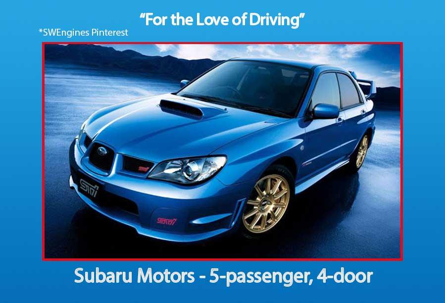 Subaru Used Engines Engines