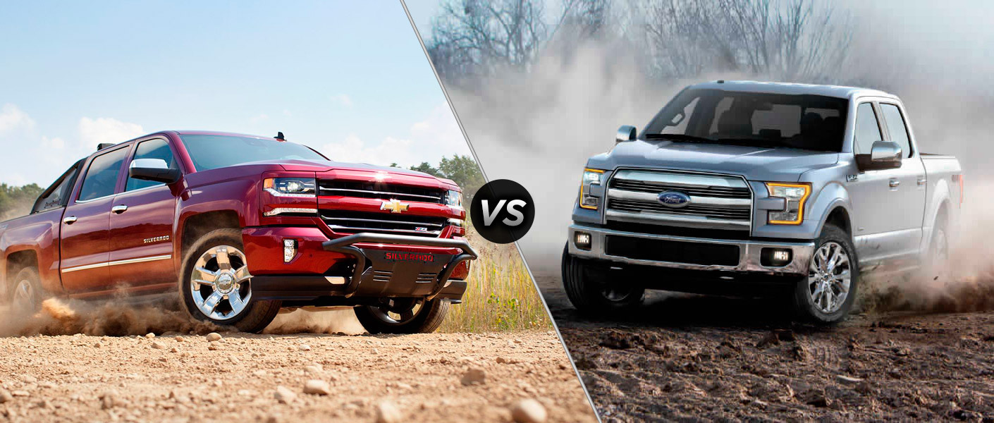 2016 Chevy Silverado Vs Ford F 150 A O